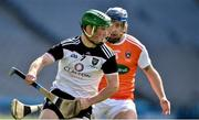 22 June 2019; Rory McHugh of Sligo in action against Davy Bridges of Armagh during the Nicky Rackard Cup Final match between Armagh and Sligo at Croke Park in Dublin.  Photo by Matt Browne/Sportsfile