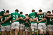 22 June 2019; Ireland team following the New World Rugby U20 Championship Pool B match between Zealand and Ireland at Club Old Resian in Rosario, Argentina. Photo by Florencia Tan Jun/Sportsfile