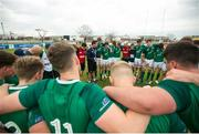 22 June 2019; Ireland team following the World Rugby U20 Championship Pool B match between New Zealand and Ireland at Club Old Resian in Rosario, Argentina. Photo by Florencia Tan Jun/Sportsfile