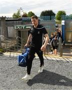 22 June 2019; Conor McManus of Monaghan arrives for the GAA Football All-Ireland Senior Championship Round 2 match between Monaghan and Armagh at St Tiarnach's Park in Clones, Monaghan.  Photo by Ray McManus/Sportsfile