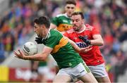 22 June 2019; Paul Geaney of Kerry in action against James Loughrey of Cork during the Munster GAA Football Senior Championship Final match between Cork and Kerry at Páirc Ui Chaoimh in Cork.  Photo by Brendan Moran/Sportsfile