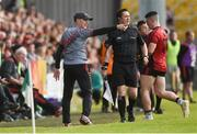 22 June 2019; Down Manager Paddy Tally on the sideline  during the GAA Football All-Ireland Senior Championship Round 2 match between Down and Mayo at Pairc Esler in Newry, Down.  Photo by Oliver McVeigh/Sportsfile