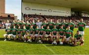22 June 2019; The Mayo squad before the GAA Football All-Ireland Senior Championship Round 2 match between Down and Mayo at Pairc Esler in Newry, Down.  Photo by Oliver McVeigh/Sportsfile