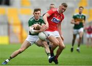 22 June 2019; Gavin White of Kerry in action against Sean White of Cork during the Munster GAA Football Senior Championship Final match between Cork and Kerry at Páirc Ui Chaoimh in Cork.  Photo by Brendan Moran/Sportsfile
