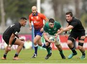22 June 2019; Dylan Tierney-Martin of Ireland during the World Rugby U20 Championship Pool B match between New Zealand and Ireland at Club Old Resian in Rosario, Argentina. Photo by Florencia Tan Jun/Sportsfile