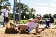 22 June 2019; Alan Kennedy of University of Ulster, Co. Antrim, competing in the Senior Mens Long Jump during the AAI Games & Irish Life Health Combined Events Day 1 at Santry in Dublin. Photo by Sam Barnes/Sportsfile