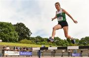 22 June 2019; Aine Kirwan of Loreto, Co. Kilkenny, competing in the Girls 1500m Steeple Chase  during the Irish Life Health Tailteann Inter-provincial Games at Santry in Dublin. Photo by Sam Barnes/Sportsfile