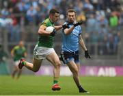 23 June 2019; Donal Keogan of Meath in action against Jack McCaffrey of Dublin during the Leinster GAA Football Senior Championship Final match between Dublin and Meath at Croke Park in Dublin. Photo by Daire Brennan/Sportsfile