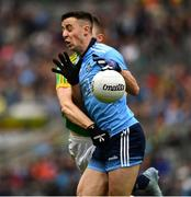 23 June 2019; Cormac Costello of Dublin is tackled by Conor McGill of Meath during the Leinster GAA Football Senior Championship Final match between Dublin and Meath at Croke Park in Dublin. Photo by Ray McManus/Sportsfile