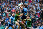 23 June 2019; Michael Fitzsimons of Dublin in action against Donal Keogan of Meath during the Leinster GAA Football Senior Championship Final match between Dublin and Meath at Croke Park in Dublin. Photo by Daire Brennan/Sportsfile