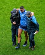 23 June 2019; James McCarthy of Dublin leaves the pitch with an injury during the first half during the Leinster GAA Football Senior Championship Final match between Dublin and Meath at Croke Park in Dublin. Photo by Brendan Moran/Sportsfile