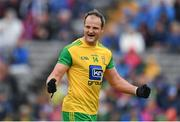 23 June 2019; Michael Murphy of Donegal celebrates at the final whistle of the Ulster GAA Football Senior Championship Final match between Donegal and Cavan at St Tiernach's Park in Clones, Monaghan. Photo by Ramsey Cardy/Sportsfile