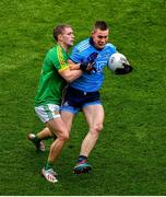 23 June 2019; Con O'Callaghan of Dublin in action against Shane Gallagher of Meath during the Leinster GAA Football Senior Championship Final match between Dublin and Meath at Croke Park in Dublin. Photo by Brendan Moran/Sportsfile
