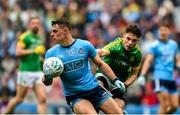 23 June 2019; Brian Howard of Dublin in action against James Conlon of Meath during the Leinster GAA Football Senior Championship Final match between Dublin and Meath at Croke Park in Dublin. Photo by Daire Brennan/Sportsfile