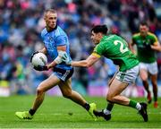 23 June 2019; Paul Mannion of Dublin in action against Séamus Lavin of Meath during the Leinster GAA Football Senior Championship Final match between Dublin and Meath at Croke Park in Dublin. Photo by Ray McManus/Sportsfile