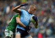 23 June 2019; Paul Mannion of Dublin in action against Shane McEntee of Meath during the Leinster GAA Football Senior Championship Final match between Dublin and Meath at Croke Park in Dublin. Photo by Daire Brennan/Sportsfile