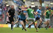 23 June 2019; Con O'Callaghan of Dublin in action against Shane Gallagher of Meath during the Leinster GAA Football Senior Championship Final match between Dublin and Meath at Croke Park in Dublin. Photo by Daire Brennan/Sportsfile