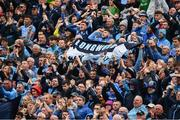 23 June 2019; Supporters on Hill 16 before the Leinster GAA Football Senior Championship Final match between Dublin and Meath at Croke Park in Dublin. Photo by Ray McManus/Sportsfile