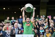 22 June 2019; Meath captain Sean Geraghty lifts the Christy Ring Cup after the Christy Ring Cup Final match between Down and Meath at Croke Park in Dublin.  Photo by Matt Browne/Sportsfile