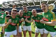 22 June 2019; Meath players celebrate after the Christy Ring Cup Final match between Down and Meath at Croke Park in Dublin.  Photo by Matt Browne/Sportsfile