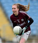 23 June 2019; Louise Ward of Galway during the 2019 TG4 Connacht Ladies Senior Football Final match between Mayo and Galway at Elvery's MacHale Park in Castlebar, Mayo. Photo by Matt Browne/Sportsfile