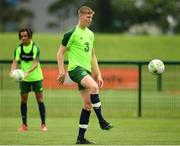 24 June 2019; Mark McGuinness during a Republic of Ireland Under-19 training session at FAI National Training Centre in Abbotstown, Dublin. Photo by Sam Barnes/Sportsfile