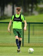 24 June 2019; Conor Grant during a Republic of Ireland Under-19 training session at FAI National Training Centre in Abbotstown, Dublin. Photo by Sam Barnes/Sportsfile
