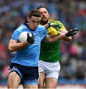23 June 2019; Brian Fenton of Dublin in action against Michael Newman of Meath during the Leinster GAA Football Senior Championship Final match between Dublin and Meath at Croke Park in Dublin. Photo by Ray McManus/Sportsfile