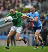 23 June 2019; Conor McGill of Meath is tackled by Philip McMahon of Dublin during the Leinster GAA Football Senior Championship Final match between Dublin and Meath at Croke Park in Dublin. Photo by Ray McManus/Sportsfile