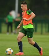 24 June 2019; Adam O'Reilly during a Republic of Ireland Under-19 training session at FAI National Training Centre in Abbotstown, Dublin. Photo by Sam Barnes/Sportsfile