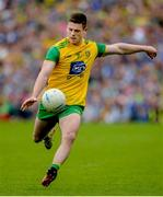23 June 2019; Eoghan Ban Gallagher of Donegal during the Ulster GAA Football Senior Championship Final match between Donegal and Cavan at St Tiernach's Park in Clones, Monaghan. Photo by Oliver McVeigh/Sportsfile