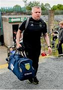 23 June 2019; Donegal selector Stephen Rochford arriving for the Ulster GAA Football Senior Championship Final match between Donegal and Cavan at St Tiernach's Park in Clones, Monaghan. Photo by Oliver McVeigh/Sportsfile