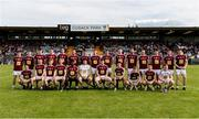 22 June 2019; The Westmeath squad prior to the GAA Football All-Ireland Senior Championship Round 2 match between Westmeath and Limerick at TEG Cusack Park in Mullingar, Co. Westmeath. Photo by Diarmuid Greene/Sportsfile