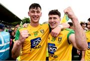 23 June 2019; Michael Langan and Kieran Gillespie of Donegal celebrates after the Ulster GAA Football Senior Championship Final match between Donegal and Cavan at St Tiernach's Park in Clones, Monaghan. Photo by Oliver McVeigh/Sportsfile
