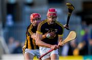 15 June 2019;  Padraig Foley of Wexford and James Maher of Kilkenny during the Leinster GAA Hurling Senior Championship Round 5 match between Wexford and Kilkenny at Innovate Wexford Park in Wexford. Photo by Piaras Ó Mídheach/Sportsfile