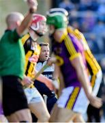 15 June 2019; Wexford manager Davy Fitzgerald during the Leinster GAA Hurling Senior Championship Round 5 match between Wexford and Kilkenny at Innovate Wexford Park in Wexford. Photo by Piaras Ó Mídheach/Sportsfile