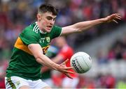 22 June 2019; Sean O'Shea of Kerry during the Munster GAA Football Senior Championship Final match between Cork and Kerry at Páirc Ui Chaoimh in Cork.  Photo by Brendan Moran/Sportsfile