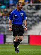 22 June 2019; Referee Sean Lonergan during the Electric Ireland Munster GAA Football Minor Championship Final match between Cork and Kerry at Páirc Ui Chaoimh in Cork.  Photo by Brendan Moran/Sportsfile