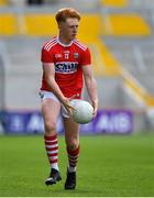 22 June 2019; Ryan O'Donovan of Cork during the Electric Ireland Munster GAA Football Minor Championship Final match between Cork and Kerry at Páirc Ui Chaoimh in Cork.  Photo by Brendan Moran/Sportsfile