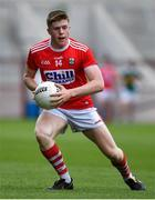 22 June 2019; Patrick Campbell of Cork during the Electric Ireland Munster GAA Football Minor Championship Final match between Cork and Kerry at Páirc Ui Chaoimh in Cork.  Photo by Brendan Moran/Sportsfile