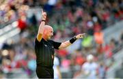 8 June 2019; Referee John Keenan during the Munster GAA Hurling Senior Championship Round 4 match between Cork and Waterford at Páirc Uí Chaoimh in Cork. Photo by Piaras Ó Mídheach/Sportsfile