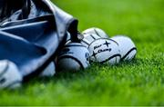 8 June 2019; A general view of sliotars before the Munster GAA Hurling Senior Championship Round 4 match between Cork and Waterford at Páirc Uí Chaoimh in Cork. Photo by Piaras Ó Mídheach/Sportsfile