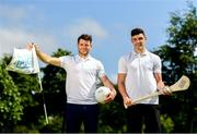 26 June 2019; AIG Insurance, proud sponsor of the Golfing Union of Ireland and Irish Ladies Golf Union, today launched this year's AIG Cups & Shields in GUI National Headquarters with the help from AIG Senior Foursomes champion, Eleanor Metcalfe, 2018 AIG Irish Close Champion, Robbie Cannon and Dublin GAA stars Eoghan O'Donnell and Kevin McManamon. AIG Insurance is offering exclusive discount to GUI and ILGU members. For a quote, go to www.aig.ie/golfer or call 1890 405 405 and see how much you could save! Pictured at the AIG Insurance GUI & ILGU Cups & Shields Launch at Carton House in Maynooth are Kevin McManamon, left, and Eoghan O'Donnell of Dublin. Photo by Sam Barnes/Sportsfile