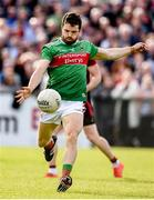 22 June 2019; Chris Barrett of Mayo during the GAA Football All-Ireland Senior Championship Round 2 match between Down and Mayo at Pairc Esler in Newry, Down. Photo by Oliver McVeigh/Sportsfile