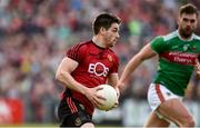 22 June 2019; Conor Poland of Down during the GAA Football All-Ireland Senior Championship Round 2 match between Down and Mayo at Pairc Esler in Newry, Down. Photo by Oliver McVeigh/Sportsfile