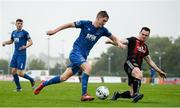 28 June 2019; John Martin of Waterford in action against Michael Barker of Bohemians during the SSE Airtricity League Premier Division match between Waterford and Bohemians at the RSC in Waterford. Photo by Diarmuid Greene/Sportsfile