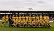 23 June 2019; The Donegal team ahead of the Ulster GAA Football Senior Championship Final match between Donegal and Cavan at St Tiernach's Park in Clones, Monaghan. Photo by Sam Barnes/Sportsfile