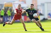 29 June 2019; Fergal Conway of Kildare in action against Niall Sludden of Tyrone during the GAA Football All-Ireland Senior Championship Round 3 match between Kildare and Tyrone at St Conleth's Park in Newbridge, Co. Kildare. Photo by Ramsey Cardy/Sportsfile