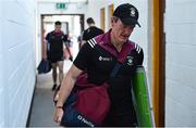 29 June 2019; Westmeath manager Jack Cooney arrives ahead of the GAA Football All-Ireland Senior Championship Round 3 match between Westmeath and Clare at TEG Cusack Park in Mullingar, Westmeath. Photo by Sam Barnes/Sportsfile