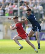 29 June 2019; Conor Meyler of Tyrone in action against Eoin Doyle of Kildare during the GAA Football All-Ireland Senior Championship Round 3 match between Kildare and Tyrone at St Conleth's Park in Newbridge, Co. Kildare. Photo by Ramsey Cardy/Sportsfile